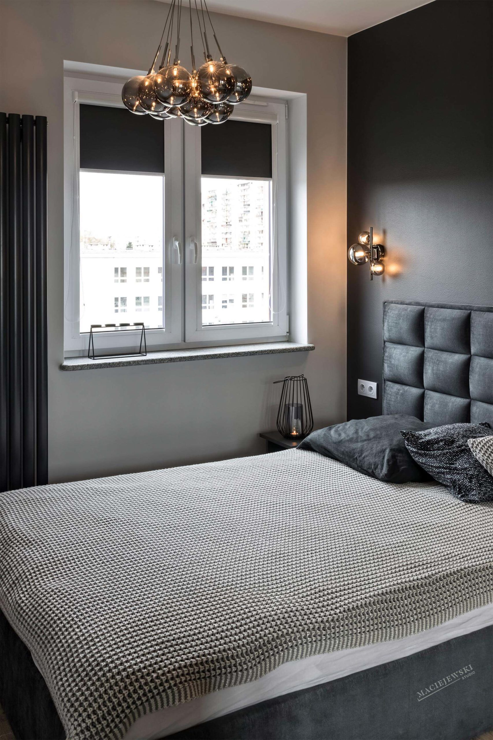 Maciejewski Studio - projekt sypialni