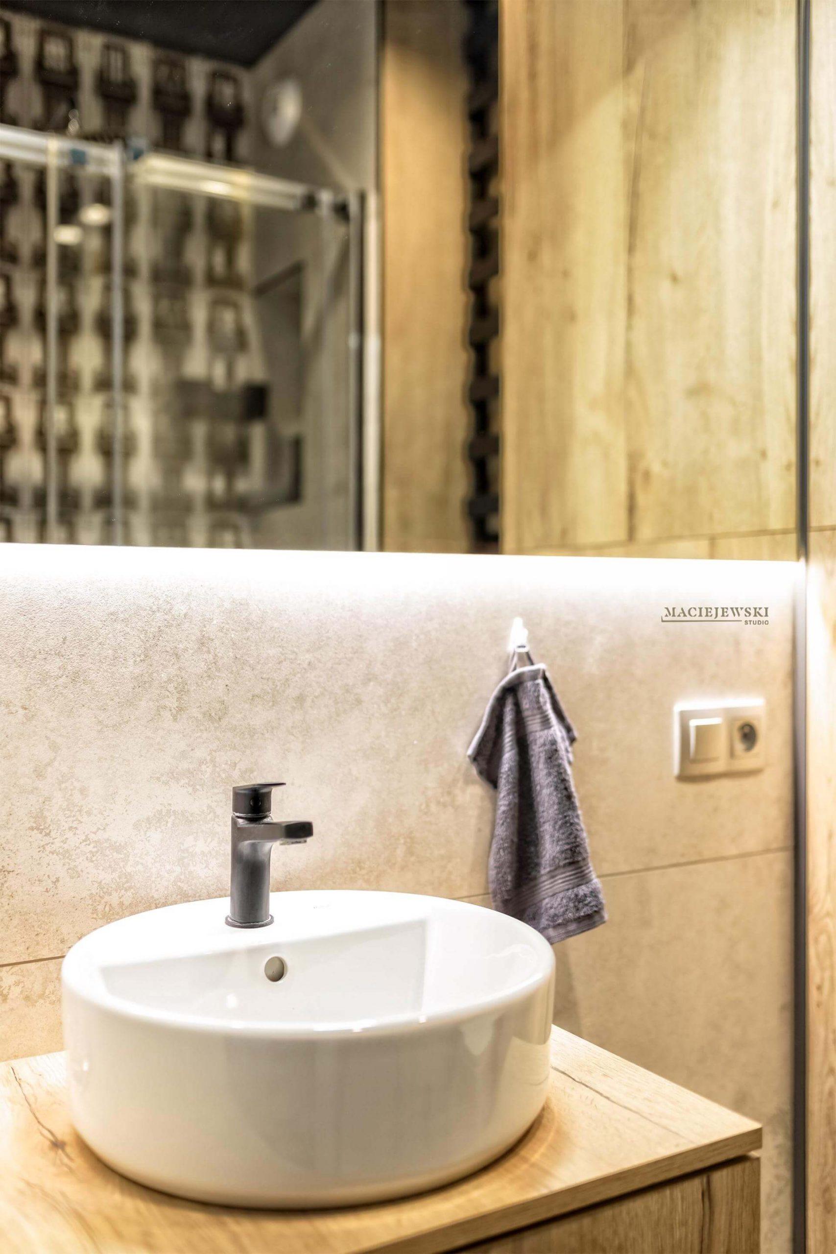 Maciejewski Studio - projekt łazienki